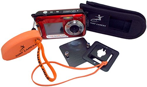 surf-camera-floatable-action-sports-wearable-camera-red