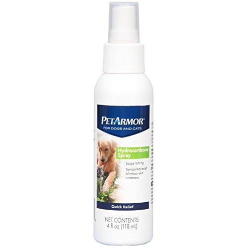 PetArmor Hydrocortisone Spray for Dogs & Cats, 4 oz
