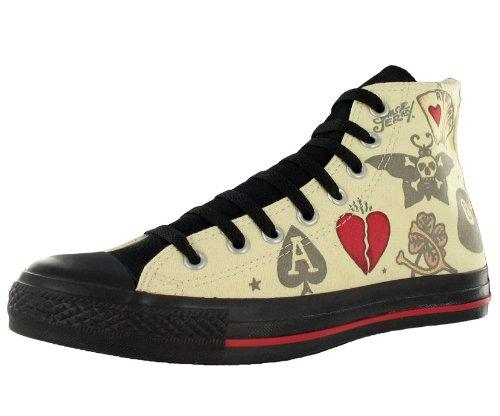 7559210c1c62aa Converse All Star Chuck Taylor Sailor Jerry Hi Unisex Shoes Size US 11.5