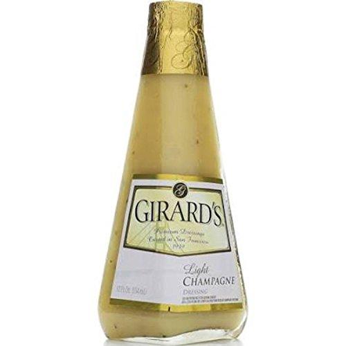Girard's Light Dressing Champagne (Pack of 2) (Dressing Salad Light Champagne)