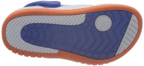 Crocs Unisex Davanti Alla Corte Zoccoli Mare Blu / Arancio