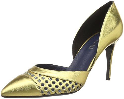 Col Oro Pollini Donna Gold 901 Shoes Pollini Scarpe Tacco Shoes H6BIxw