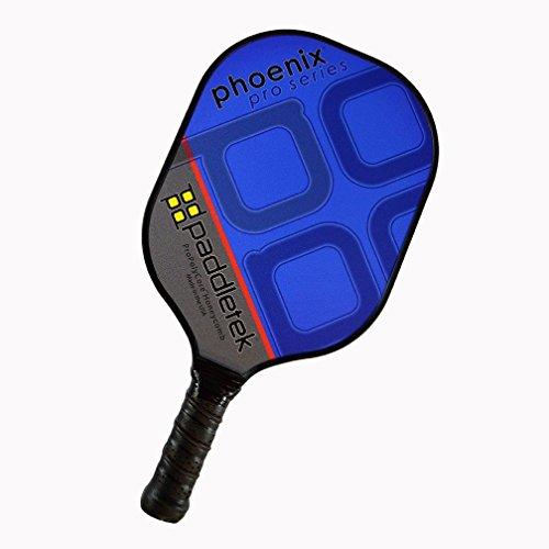 Paddletek Phoenix Pro Pickleball Paddle, Blue