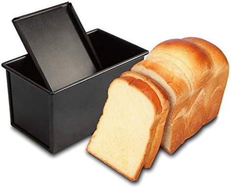 CANDeal Molde para Tostar con Tapa Rectangular Pan Antiadherente ...