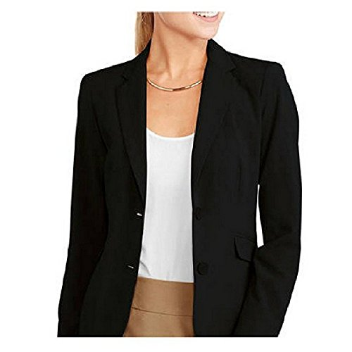 George+Women%27s+Classic+Career+Suiting+Blazer+-+Modern+Fit+%2814%2C+Black%29