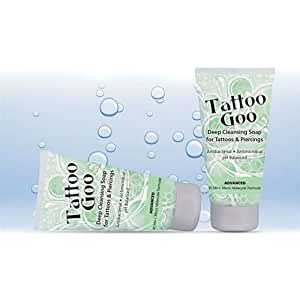 Tattoo goo deep cleansing antibacterial aftercare soap for for Tattoo goo review