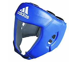 adidas AIBA approved Boxing Head Guard Blue