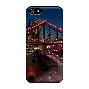 Fashion Tpu Case For Iphone 5/5s- Story Bridge Defender Case Cover
