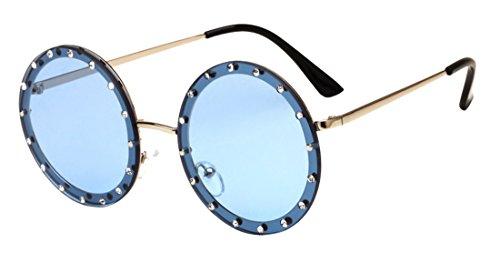 lunettes anti marée Color5 JYR soleil Polaroid unisexe HD de ultraviolet lunettes lunettes mode soleil rondes de Pxa8wPZ