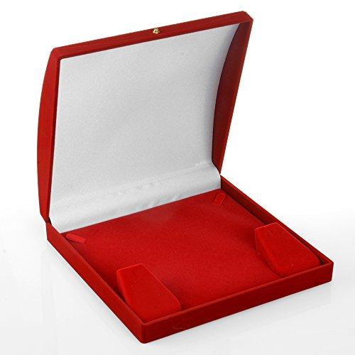 (Geff House Dome Rani Necklace/Earring Jewelry Set Gift Box (Medium))