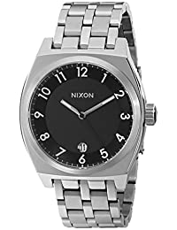 Nixon Women's NXA325000 Classic Analog Stainless Steel Black Dial Watch
