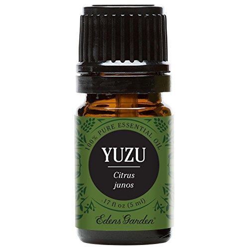 Yuzu Essential Oil (100% Pure, Undiluted Therapeutic/Best Grade) Premium Aromatherapy Oils by Edens Garden- 5 ml