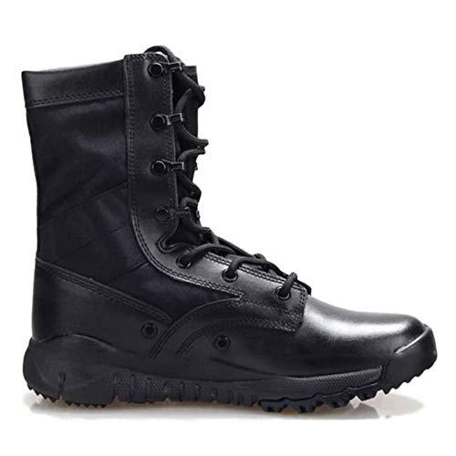 Militaires Police Camo De Desert Boot Sécurité Black Tactique Combat Armée Patrouille Cheville Militaire Bottes aqwSZg