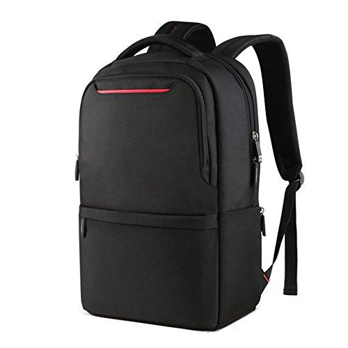 Nclon Negocio Mochila Inrayable,Backpack Hombres Mujer Elegante Escuela Bolsa escuela Ocio Mochila para portátiles 15.6 Inch Portátiles laptop Viajes -rojo rojo