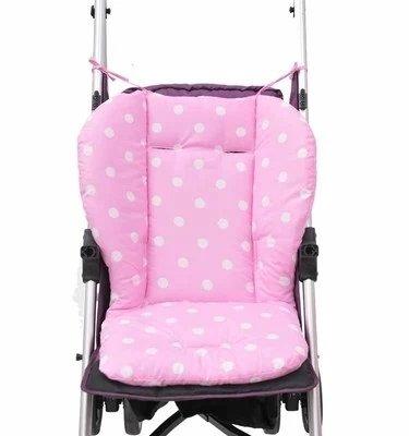 Baby Car Seat Baby Car Seat Cover Baby Car Seats Baby Infant Stroller Seat Pushchair Cushion Cotton Mat Rainbow Color Soft Thick Pram Cushion Chair BB Car Seat Cushion 1