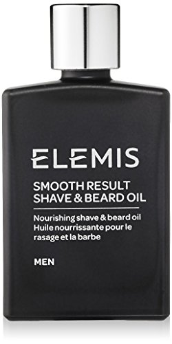 ELEMIS - Aceite para barba y afeitado de efecto suave – Aceite nutritivo para barba y afeitado para hombres, 1 fl. oz