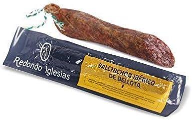 Salchichón Ibérico de Bellota / Peso aprox. 1kg / Elaborado en Salamanca: Amazon.es: Alimentación y bebidas