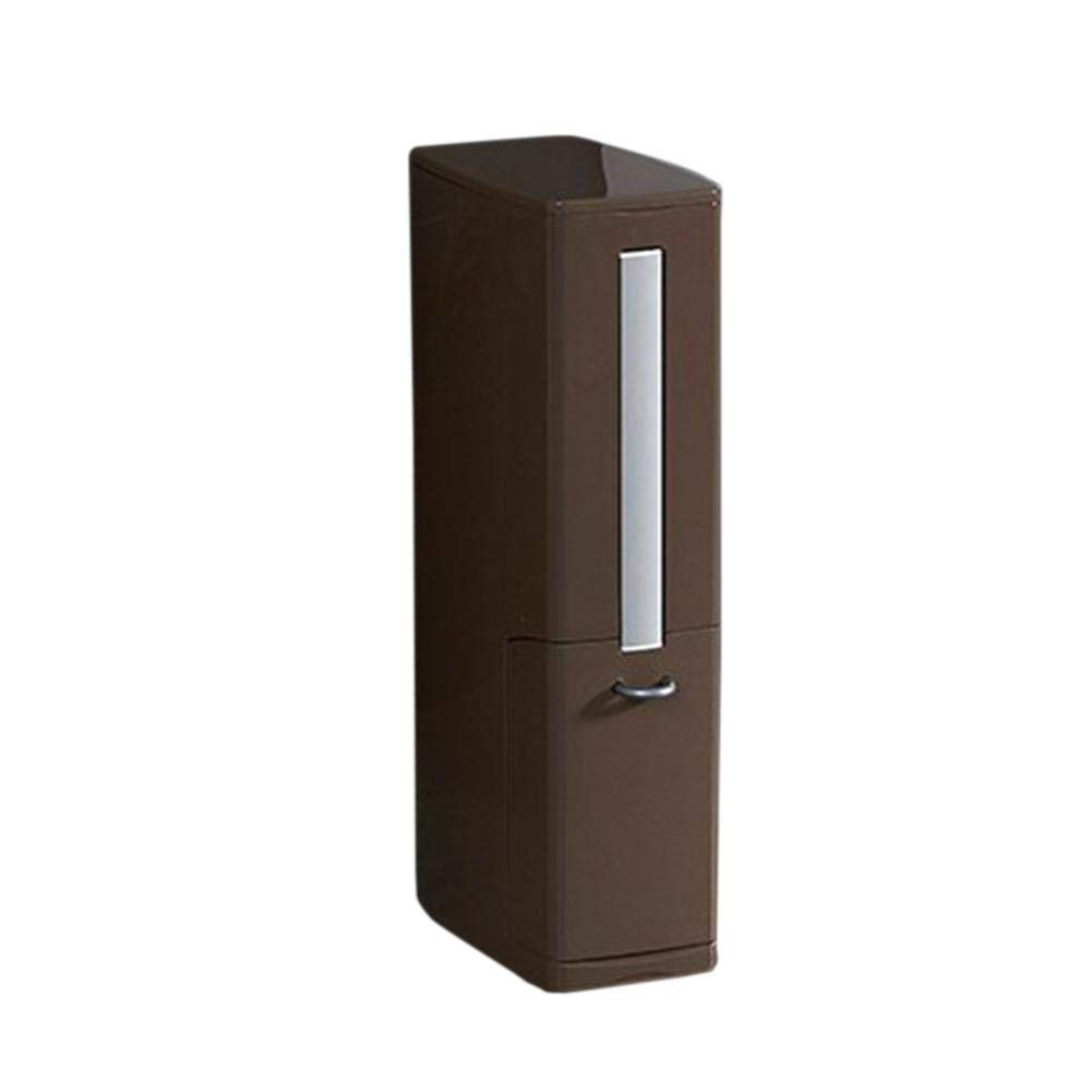 Fovolat | Trash Can for Bathroom - Toilet Brush and Holder for WC - Tissue Box Holder - 3 in 1Trash Can - Small Volume, More Functions