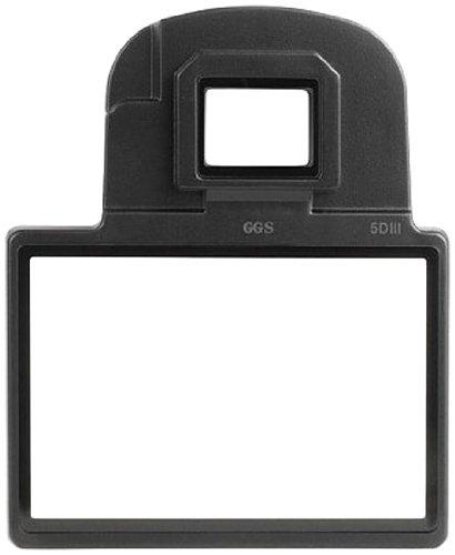 Delamax by GGS Sucher-/Displayschutz Glas für Canon EOS 5D Mark III