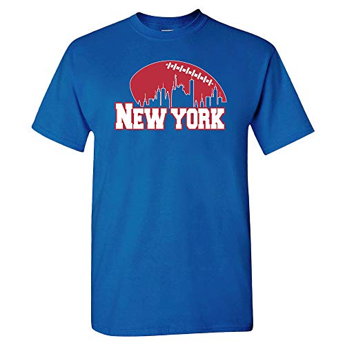 Ny New York Giants T-shirt - New York Football Skyline Shirt (M)