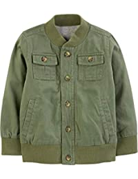 Baby and Toddler Boys' Twill Button up Jacket