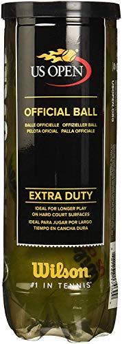 Wilson US Open Extra Duty Tennis Ball (4-Pack), Yellow - Tennis Ball Yellow