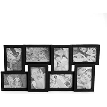 this item melannco 8 opening collage frame black