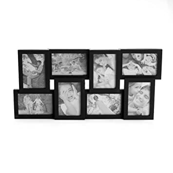 melannco 8 opening collage frame black