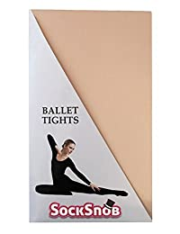 Silky Little Girls'Ballet Dance Tights Full Foot Theatrical 10% Spandex