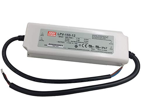 LPV-150-12 150W 12V,0~10A,MEAN WELL ,Waterproof LED Driver Switching Power Supply ,110V-220V AC-DC ,Transformer
