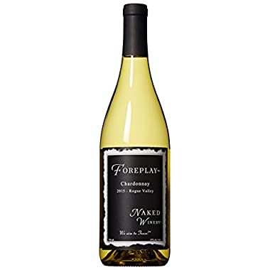 2015 Naked Winery  Foreplay  Rogue Valley, Oregon Chardonnay 750 mL