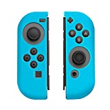 Insten Joy-Con [L/R] Cover for Nintendo Switch, [Anti-Slip/Ultra Thin] Protective Skin Cover Case Joy Con Left/Right Controller For Nintendo Switch Console [2017 New Release], Blue For Sale