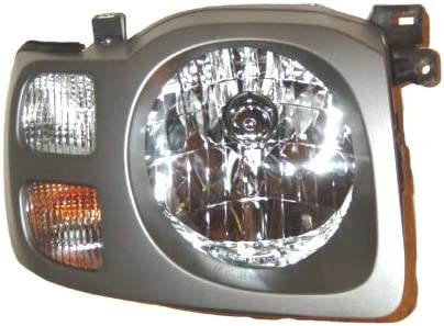 Partslink Number NI2503148 OE Replacement Nissan//Datsun Xterra Passenger Side Headlight Assembly Composite