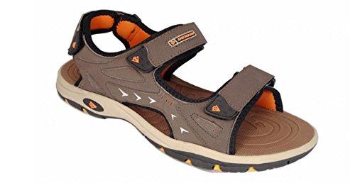 Dunlop - Zapatos de tacón  hombre - Dark Brown - Orange