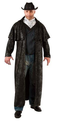 Rubie's Costume Adult Full Cut Gunslinger Costume, Black, Plus