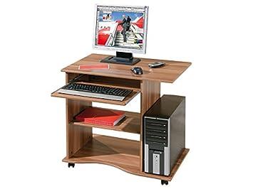 Inter link bureau informatique table de travail sur roulettes
