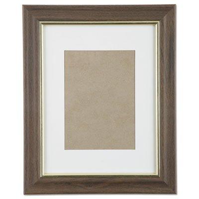 7105000528698, SKILCRAFT Walnut Vinyl Frames, Certificate/Photo, 8 x 10, 12/CT by AbilityOne