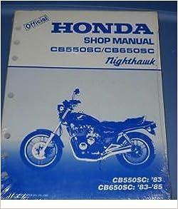 1984 cb650sc nighthawk blue book