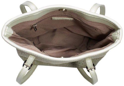 Tamaris IVY Mini 1432141-535 Damen Shopper 17x24x9 cm (B x H x T) Grau (Light Grey 204) XwOUKBMqS