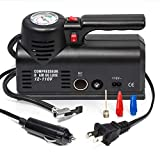 Kensun D1001 AC/DC Heavy Duty Multi-Function Air Compressor Tire Inflator