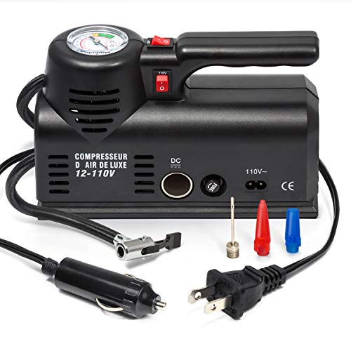 - Kensun D1001 AC/DC Heavy Duty Multi-Function Air Compressor Tire Inflator