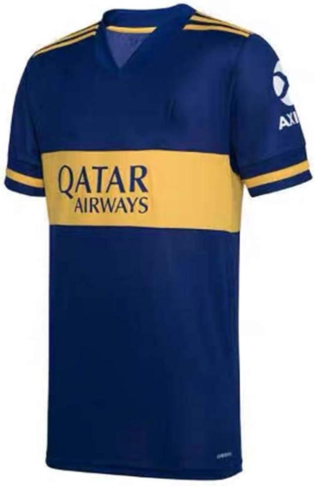 QINGYA 20-21 Camiseta de Local Juvenil, Ropa Deportiva/Ropa de Entrenamiento/Ropa Infantil/Ropa Juvenil,Muy cómodo de Llevar