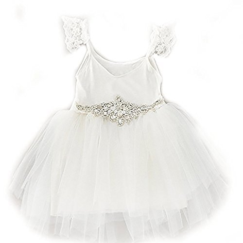 Buy lace tutu flower girl dress - 7
