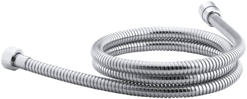 KOHLER K-8593-CP MasterShower 72-Inch Metal Shower Hose, Polished Chrome