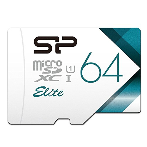 Silicon Power 64GB MicroSDXC UHS-1 Memory Card Limited Edition – with Adapter (SP064GBSTXBU1V20BS)