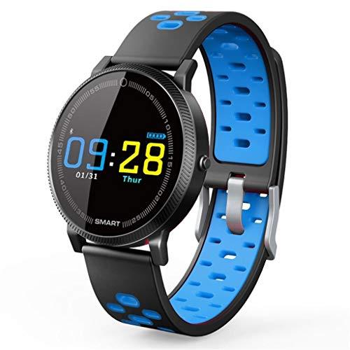 SOYY Monitor de Actividad Inteligente Resistente al Agua, Monitor de Ritmo cardíaco, podómetro inalámbrico Bluetooth,...