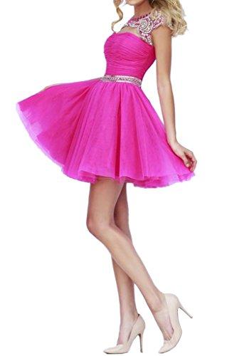 Missdressy - Vestido - trapecio - para mujer rosa 2 mes