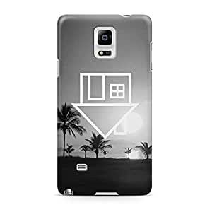 The Neighbourhood The NBHD Palms Sweater Weather Hard Plastic Snap-On Case Cover For Samsung Galaxy Note 4 by runtopwell