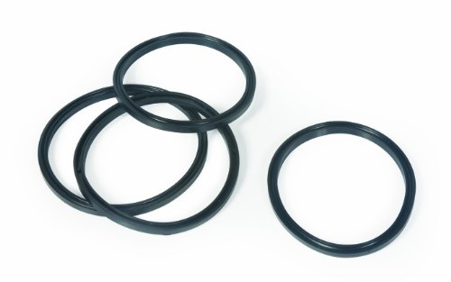 Camco 39834 Replacement Sewer Fitting Gaskets, Bayonet & 4 in 1 Adapter, 4 Pack