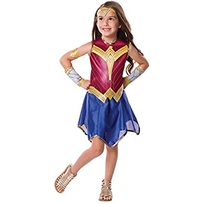 Rubie's Justice League Child's Wonder Woman Costume, Small: Toys & Games